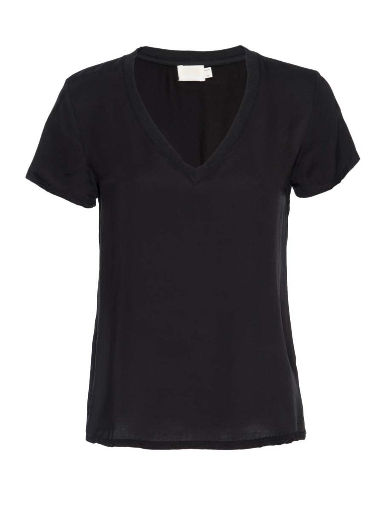 Nation LTD June V Neck in Black
