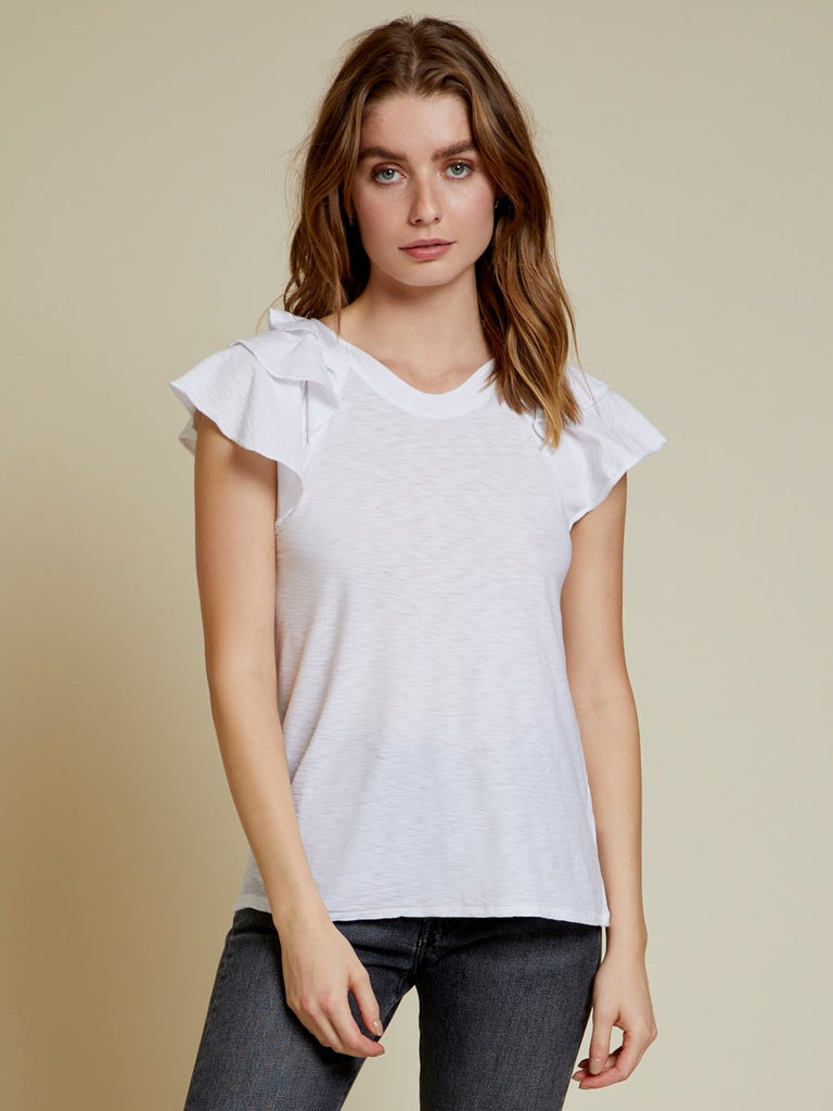 Nation LTD Francine Tee in White