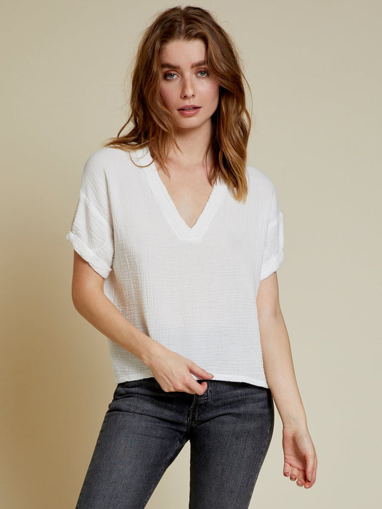 Nation LTD Karina Top in White