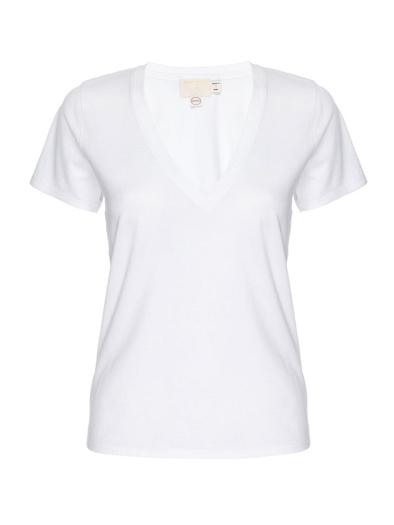 Nation LTD Blair Tee in Organic Cotton in White