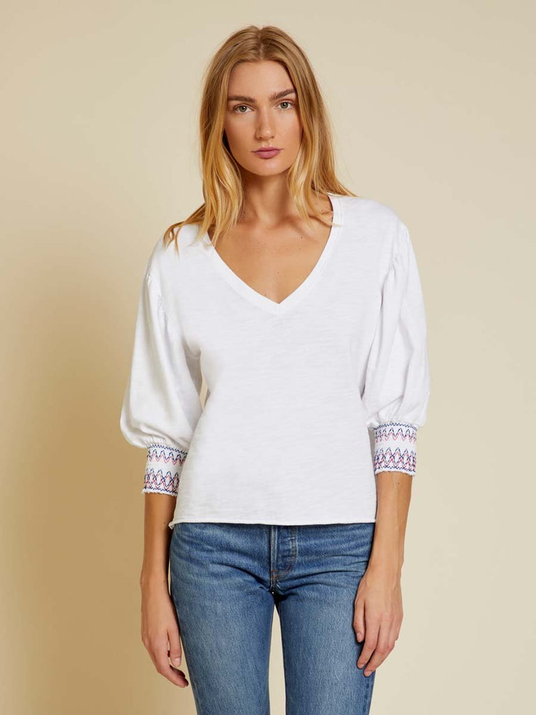 Nation LTD Jude Top in Optic White