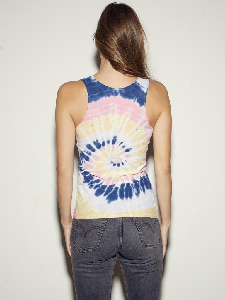Nation LTD Iris Tank in Tie Dye
