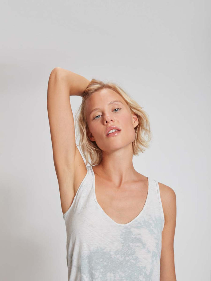 Nation LTD Pilar Tank in Bleached Sage