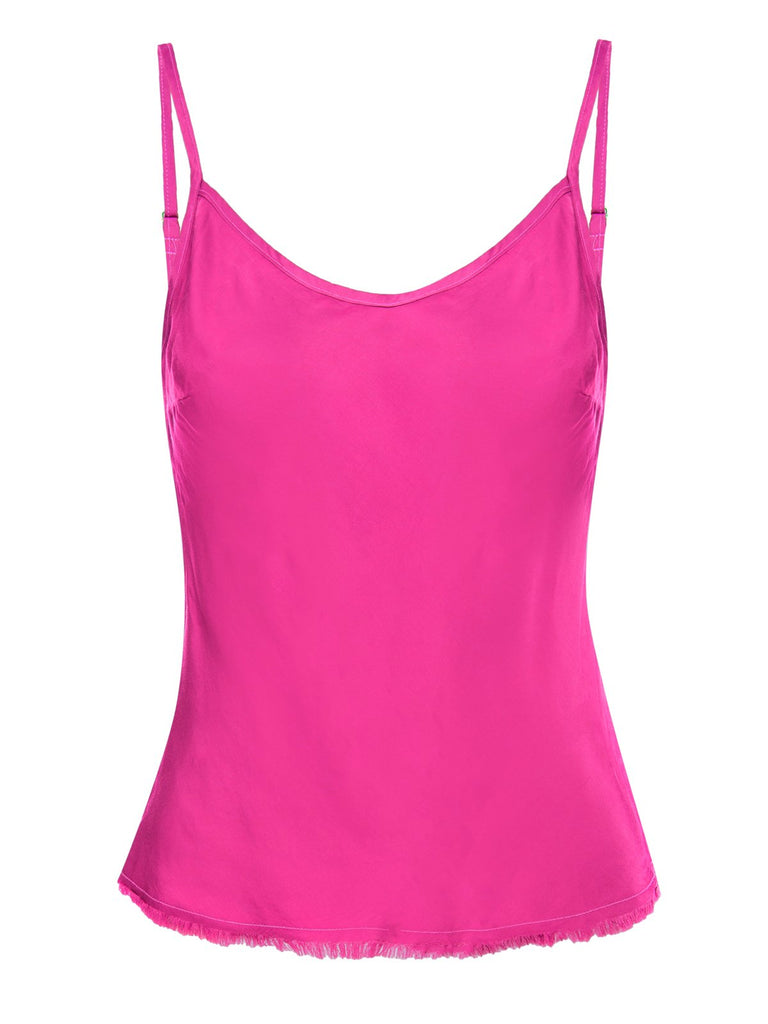 Nation LTD Lera Cami in Fuchsia