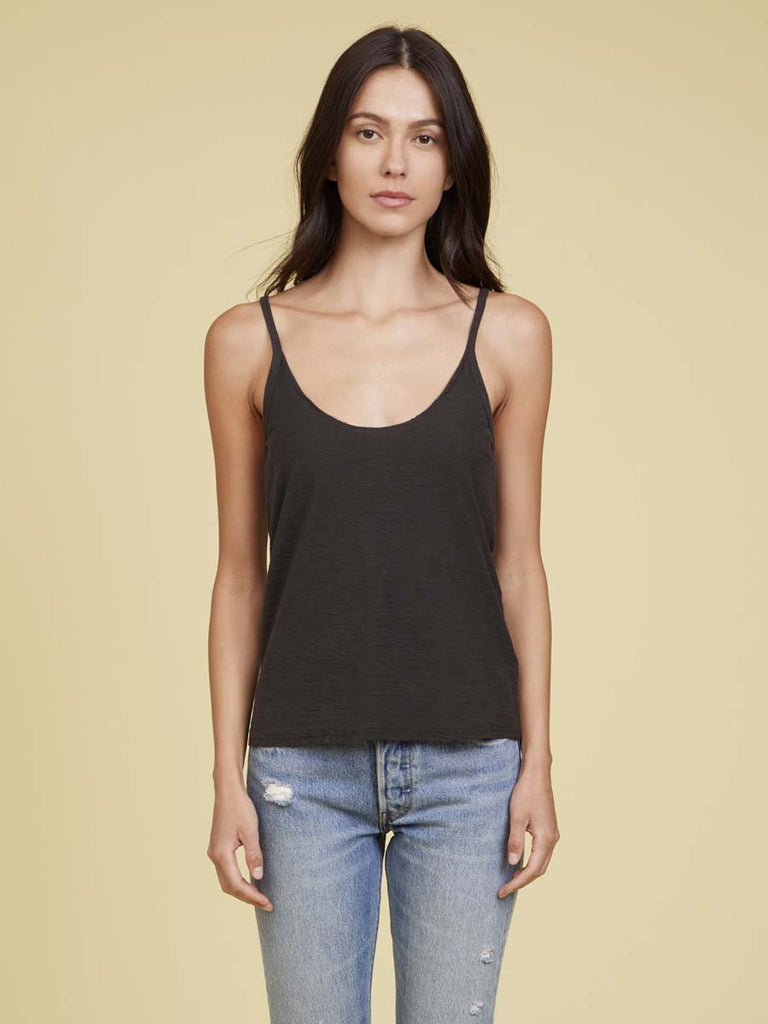 Nation LTD Ferris Cami in Washed Black