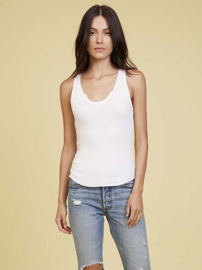 Nation LTD Stella Tank in White
