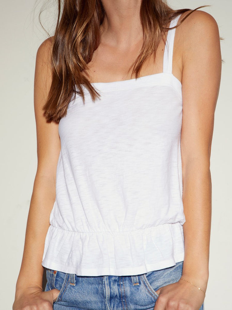 Nation LTD Emery Tank in White