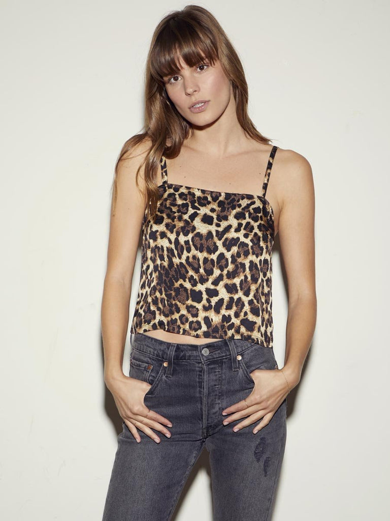 Nation LTD Mila Cami in Leopard