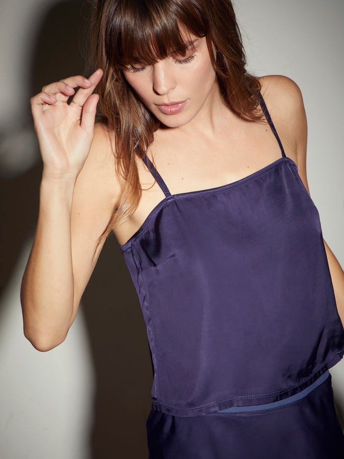 Nation LTD Mila Cami in Indigo