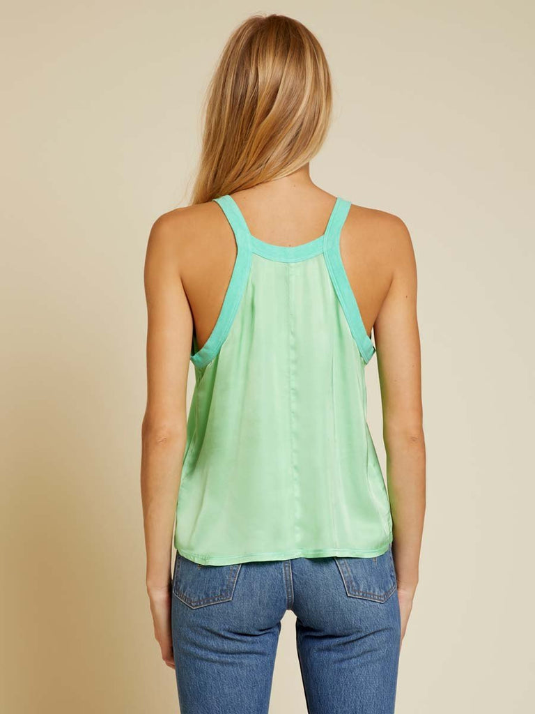 Nation LTD Zora Tank in Electric Lime