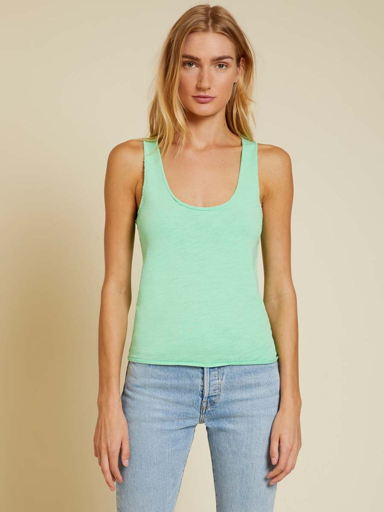 Nation LTD Courtney Tank in Electric Lime