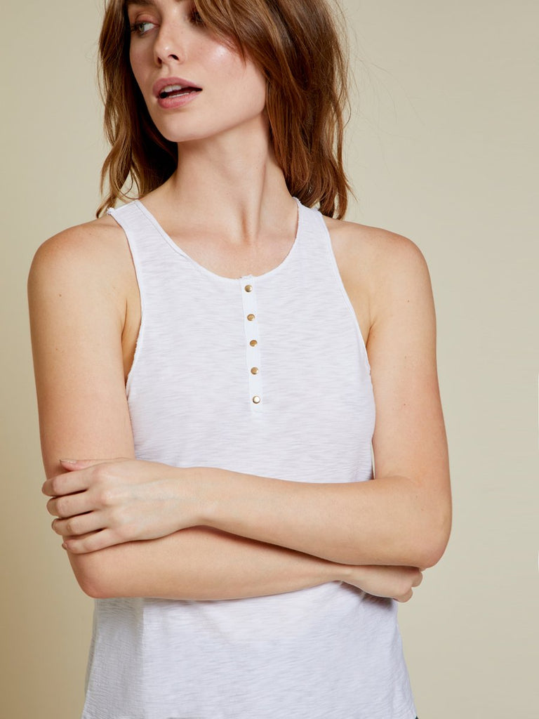 Nation LTD Nicolette Tank in White