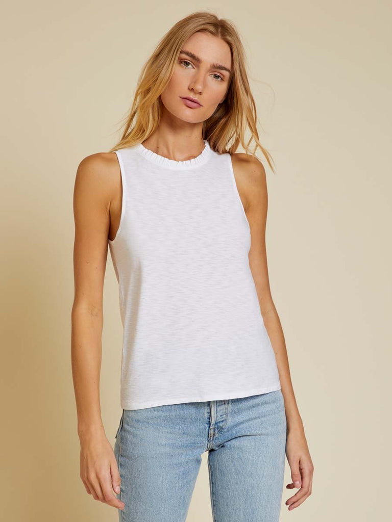 Nation LTD Janie Tank in White