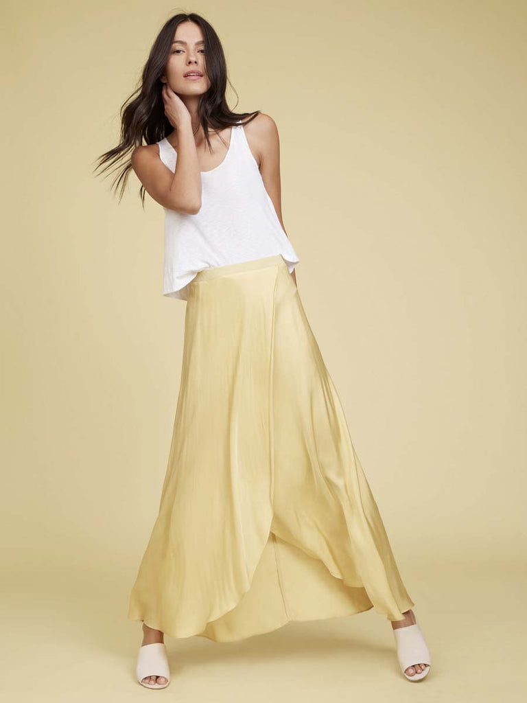 Nation LTD Giorgia Skirt in Lemon