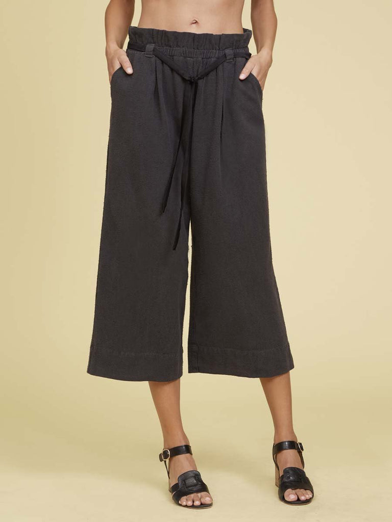 Nation LTD Sookie Trouser in Washed Black