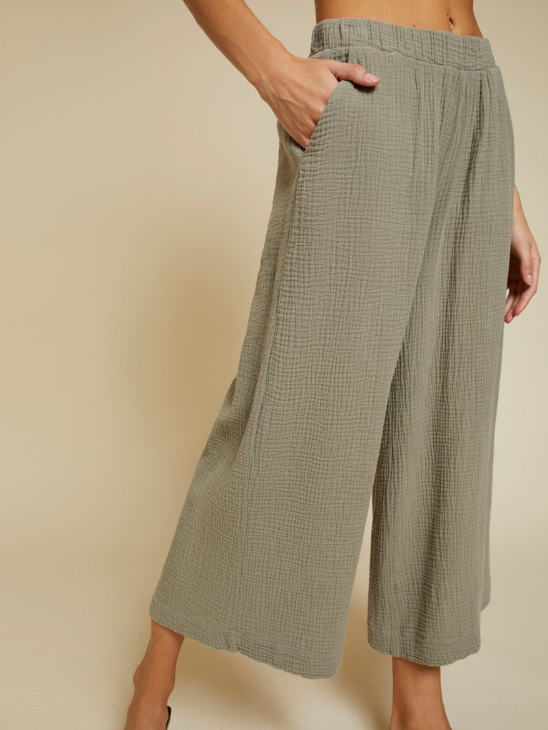 Nation LTD Palermo Pant in Dirty Martini