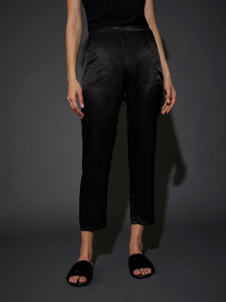 Nation LTD Topanga Trouser in Black
