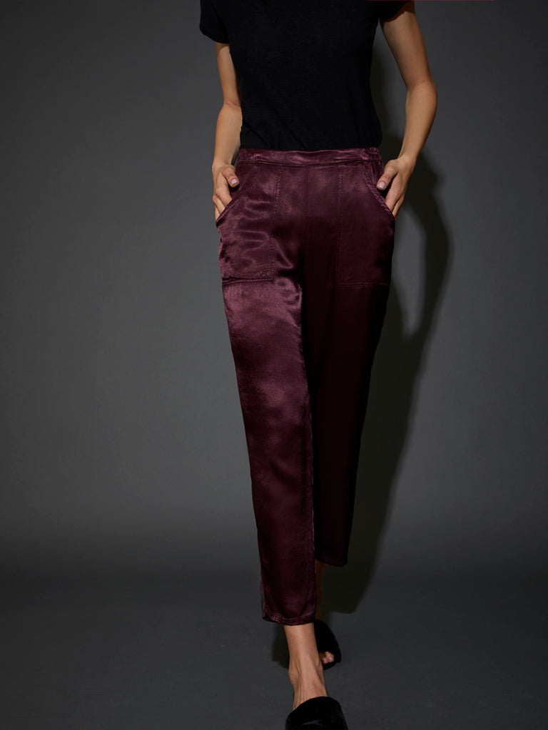 Nation LTD Topanga Trouser in Raisin