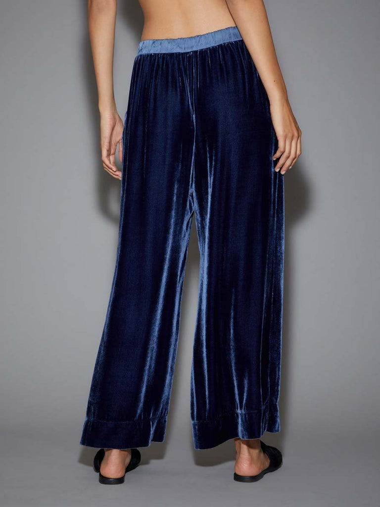 Nation LTD Pico Pant in Velvet in Admiral