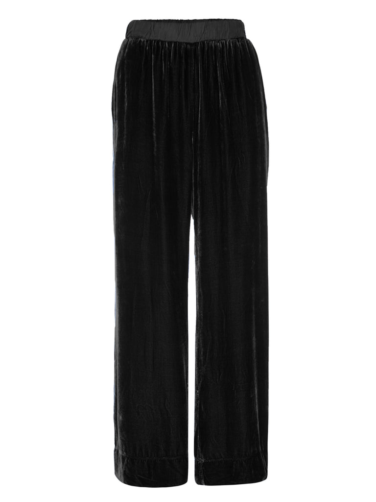 Nation LTD Pico Pant in Velvet in Black