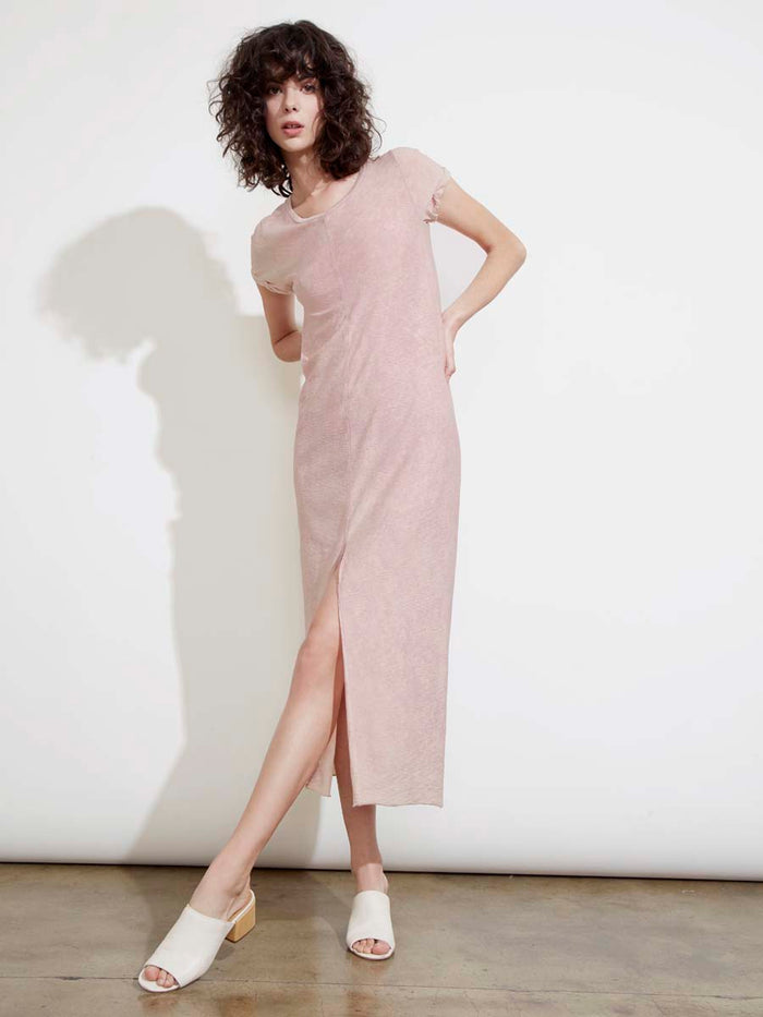 Lina Dress in Acid Pink