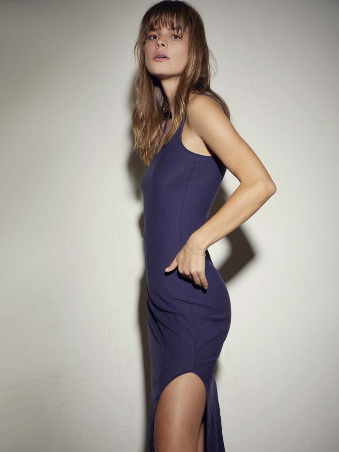 Nation LTD Tank Dress in Indigo