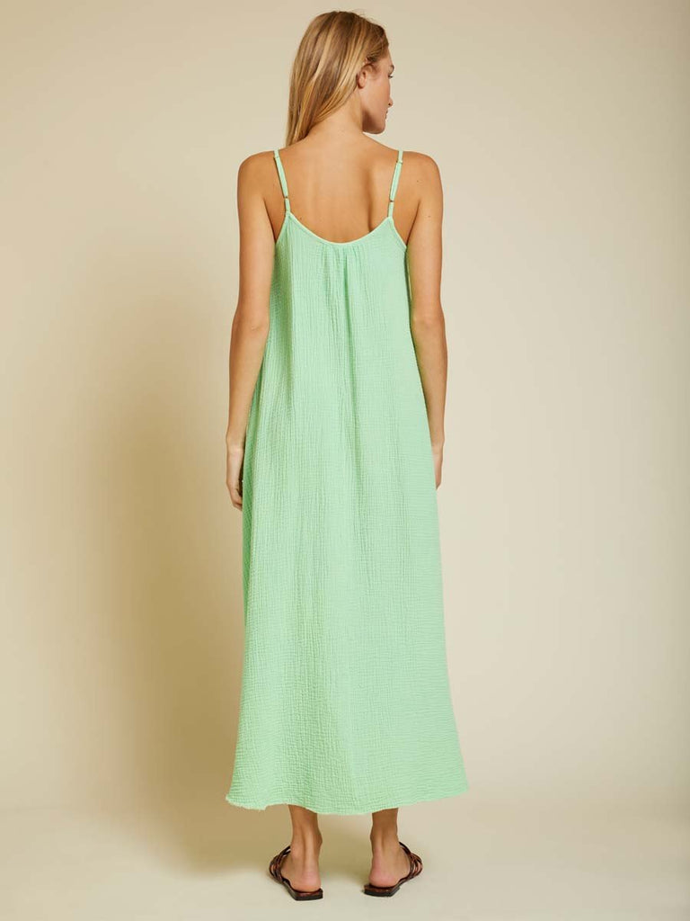 Nation LTD Lila Dress in Electric Lime