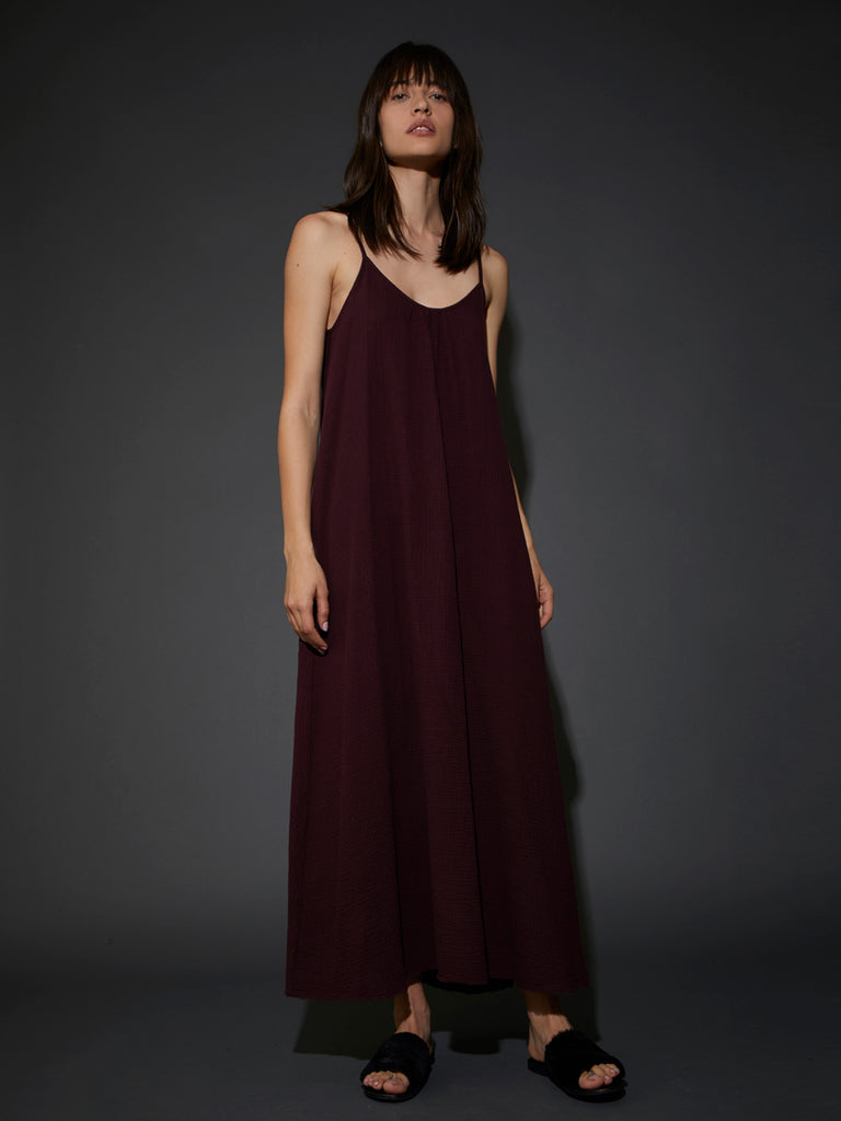 Nation LTD Lila Dress in Raisin