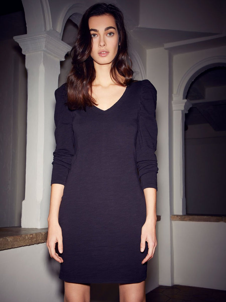 Nation LTD Janessa Dress in Jet Black