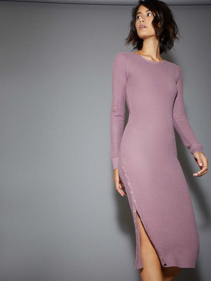 Nation LTD Alanna Dress in Mauve