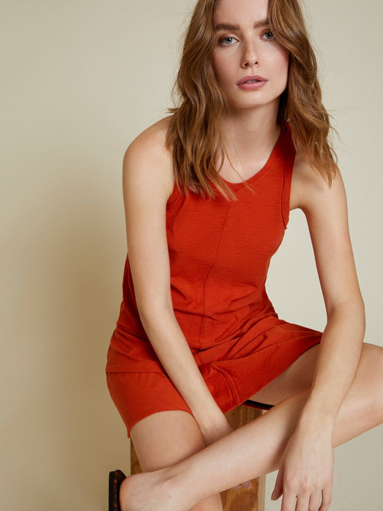 Nation LTD Lulu Dress in Paprika
