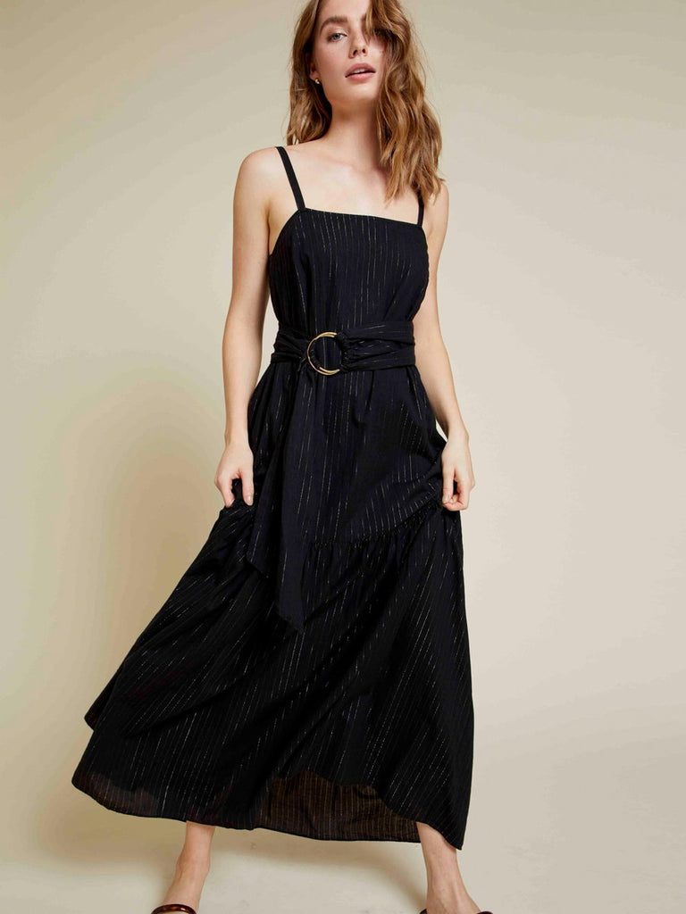 Nation LTD Anais Dress Black