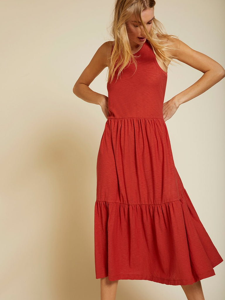 Nation LTD Melissa Dress in Vintage Red