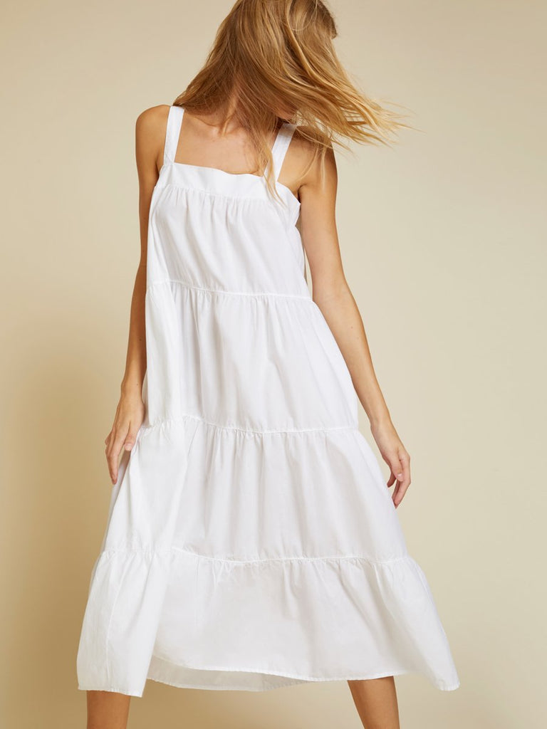 Nation LTD Amelia Dress in White