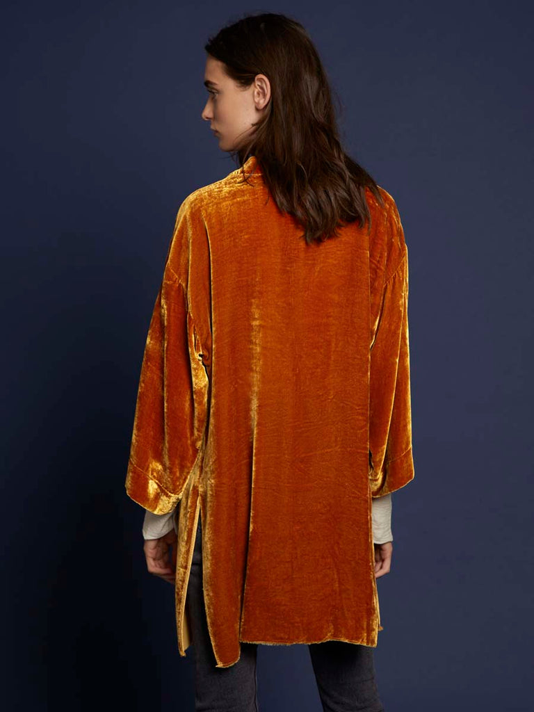 Winslow Bed Jacket in Citron