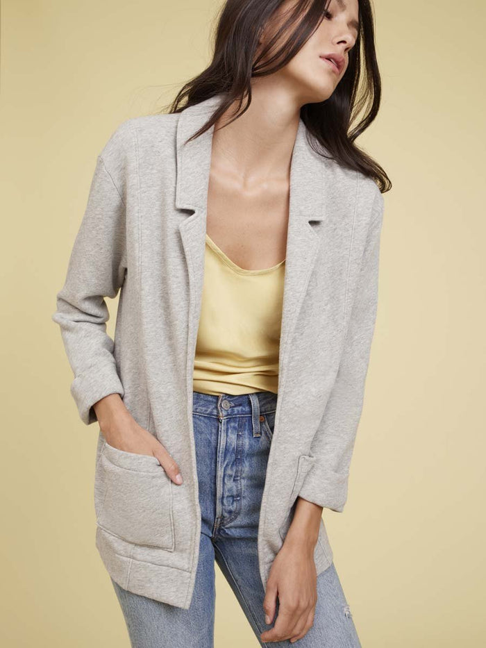 Nation LTD Drea Blazer in Heather Grey