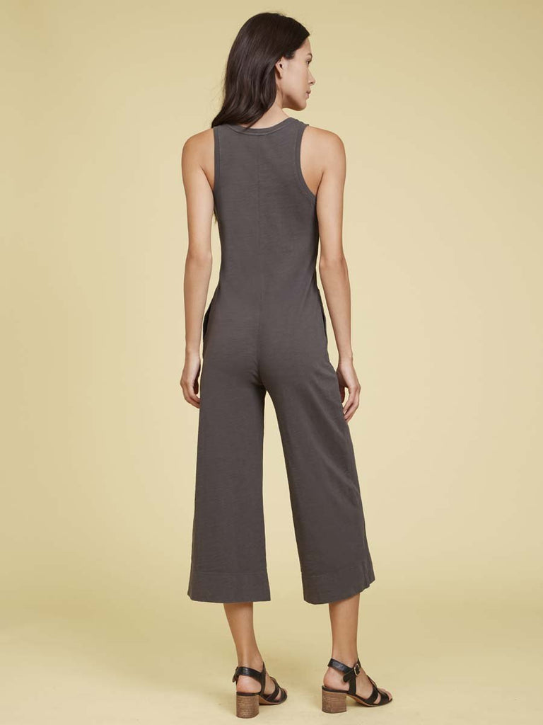 Nation LTD Benni Jumpsuit in Graphite