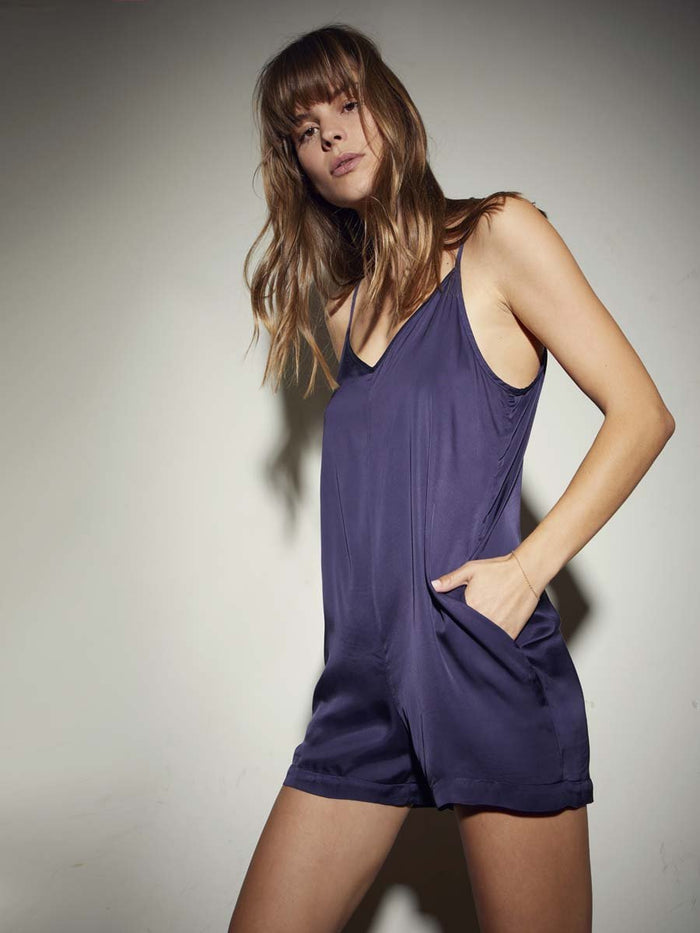 Nation LTD Cara Romper in Indigo