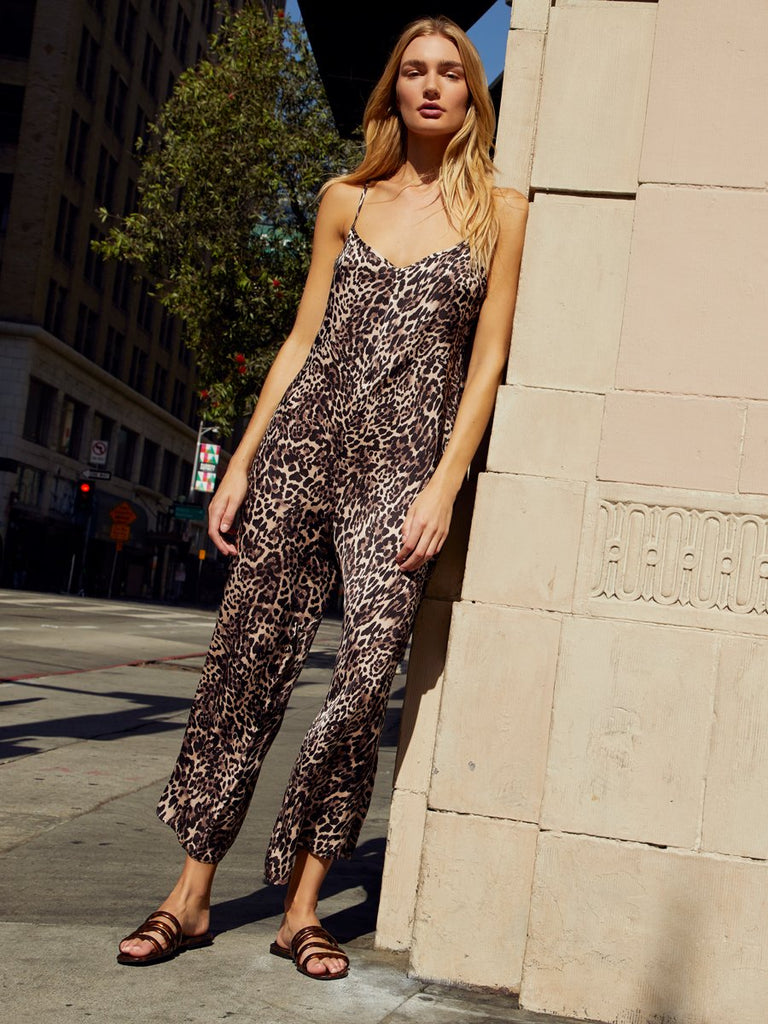 Nation LTD Pippa Jumpsuit in Safari