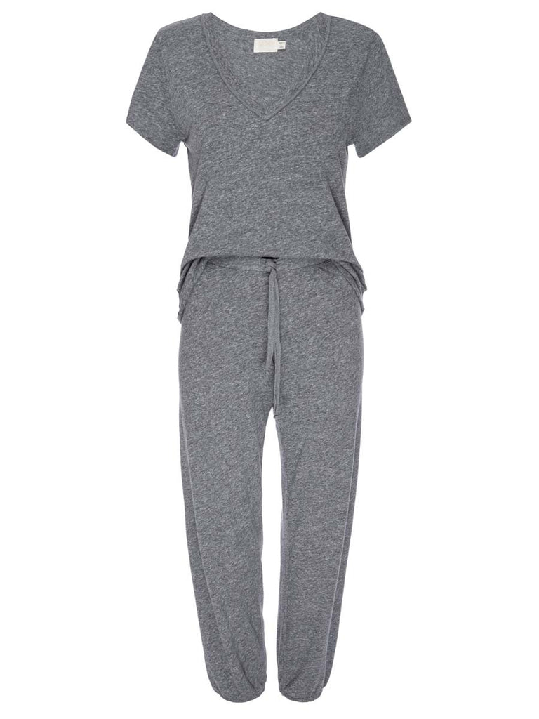 Nation LTD Cozy Sleep Set in Heather Grey