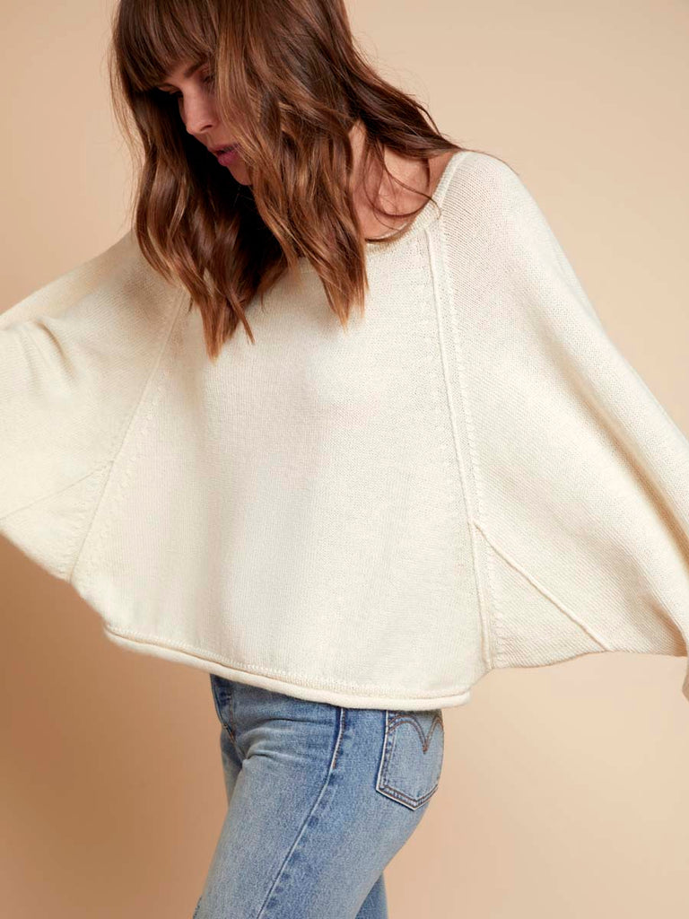 Nation LTD Lily Sweater in Creme