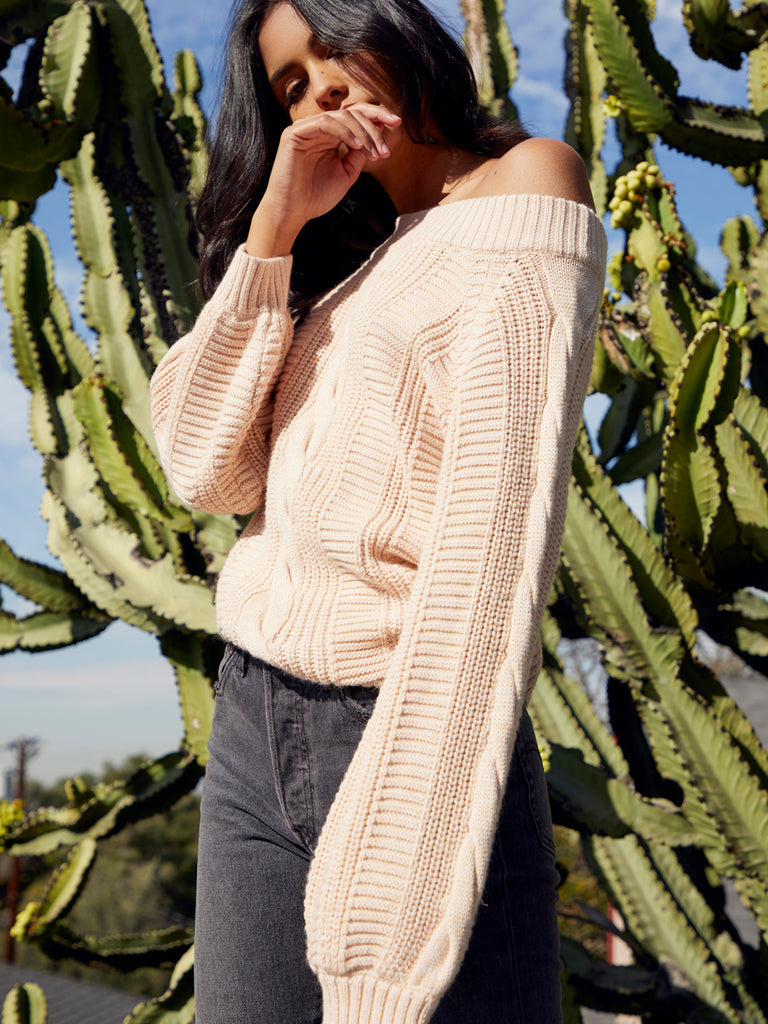 Carlotta Off the Shoulder Sweater