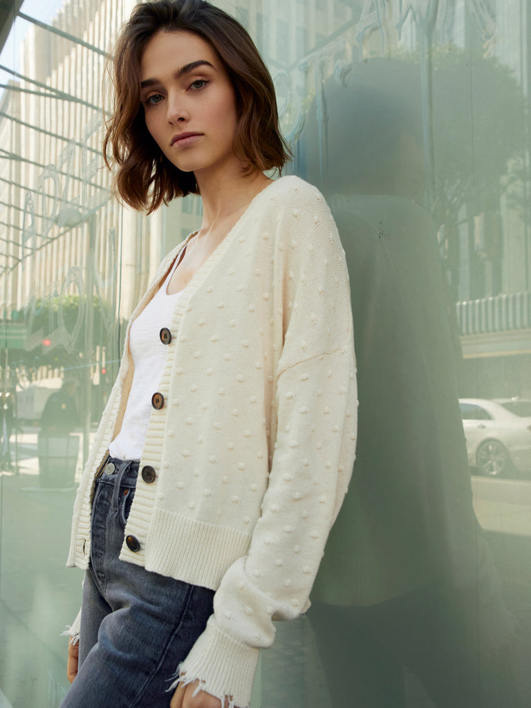 Nation LTD Madeline Cardigan in Natural