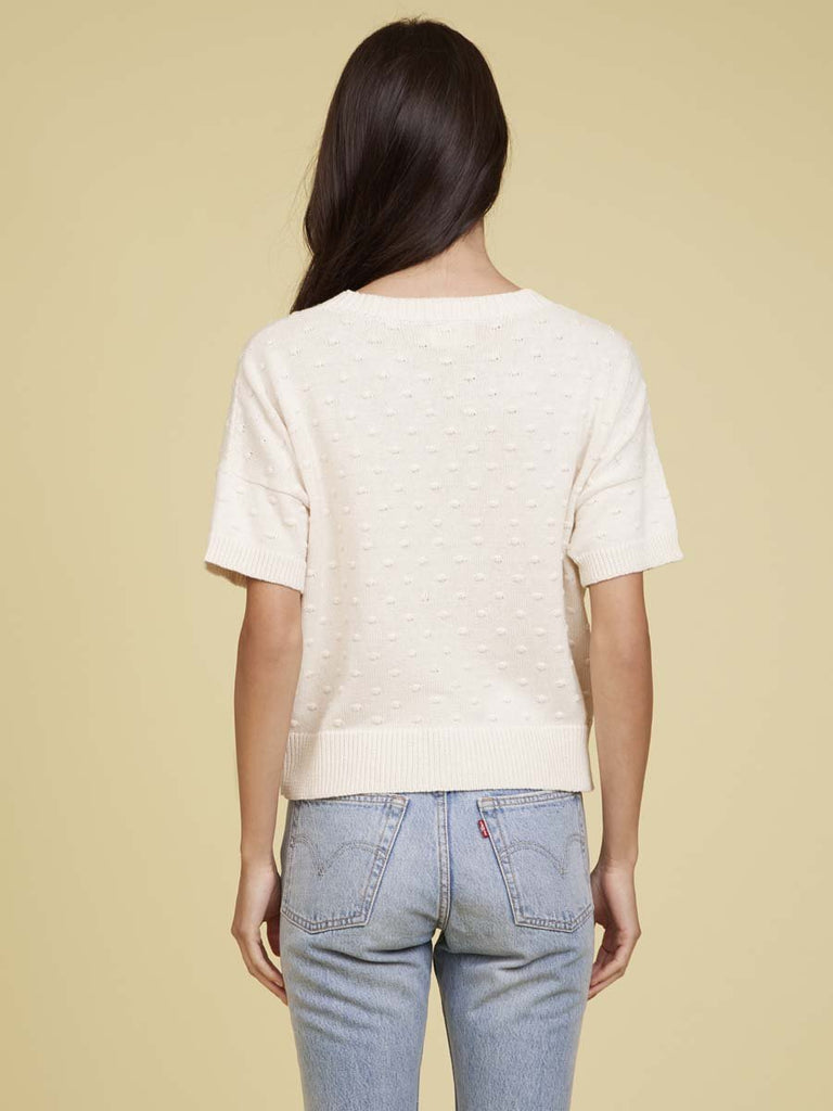 Nation LTD Gigi Sweater Tee in Natural