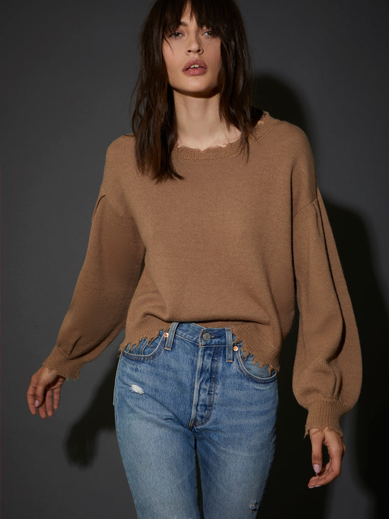 Nation LTD Ruthie Sweater in Camel