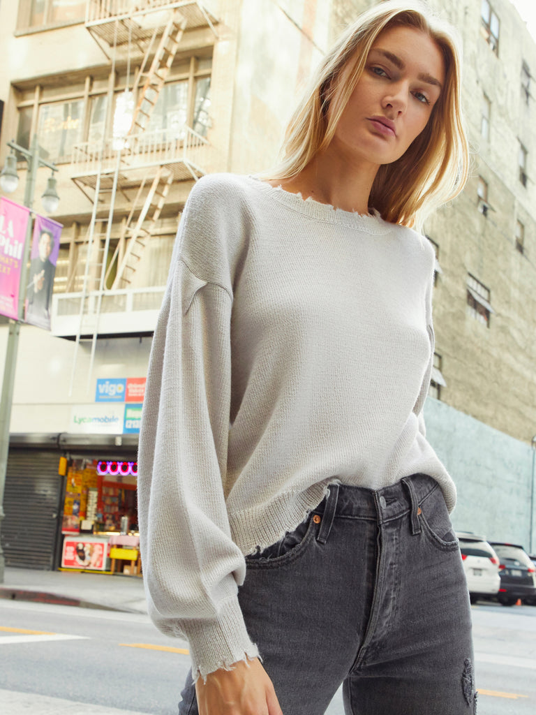 Nation LTD Ruthie Sweater in Oat