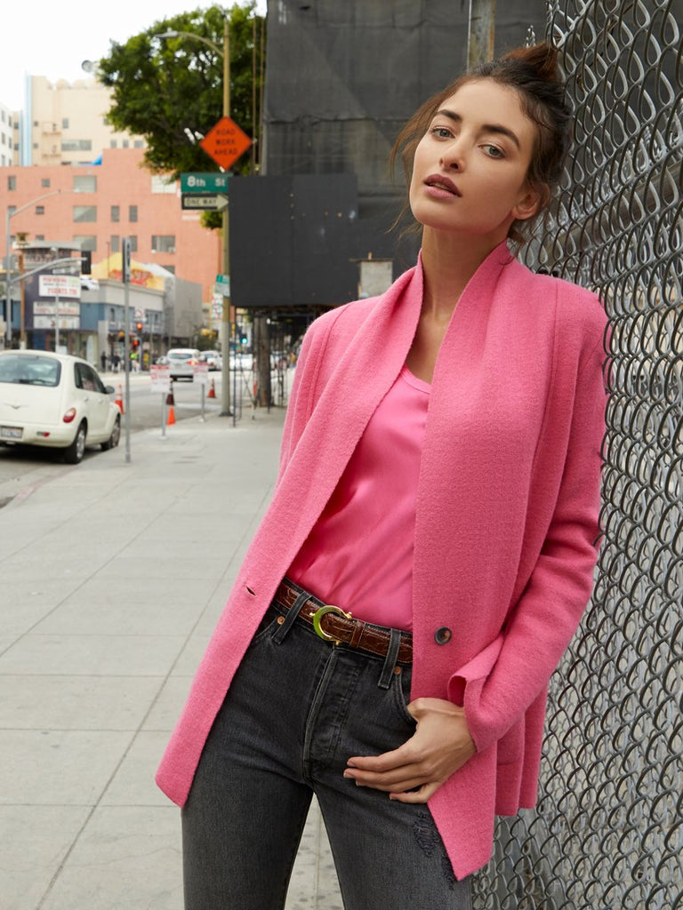 Nation LTD Kelly Blazer in Bubblegum