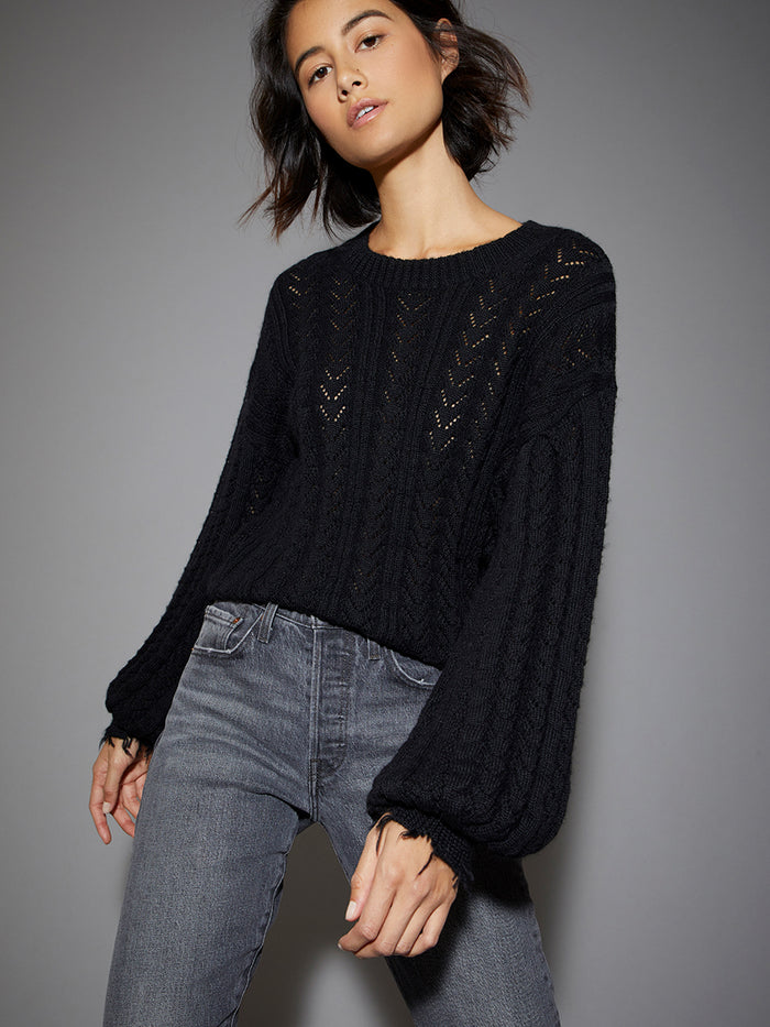 Nation LTD Ruthie Sweater in Black