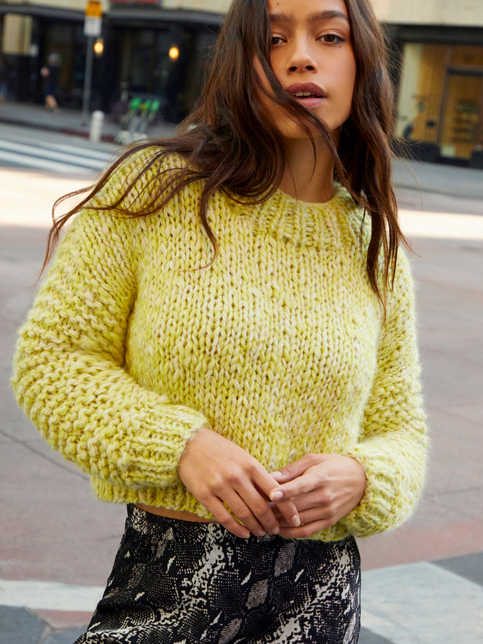 Nation LTD Tiera Sweater in Citron