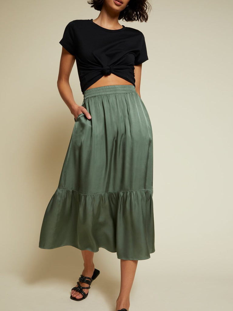 Nation LTD Alba Skirt in Thicket